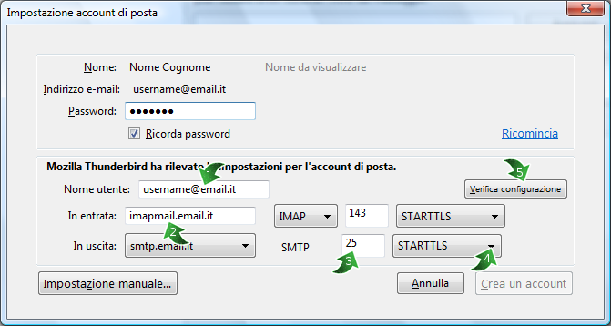 Smtp alice mail - Porta server alice ...