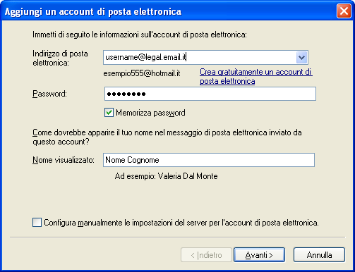 Windows Mail XP